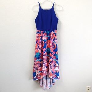 Anthropologie Hutch Hi Low Dress Floral Sz Small